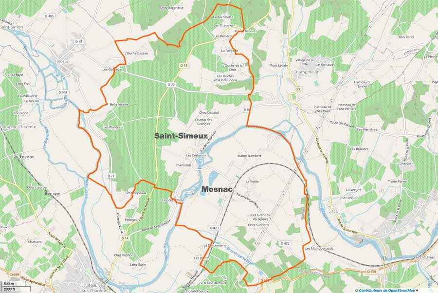 Mosnac-Saint-Simeux