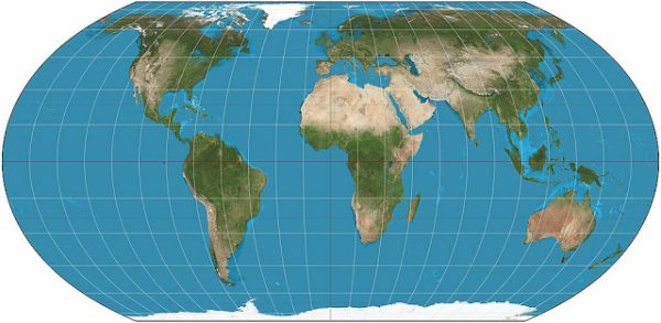 Projection Equal Earth