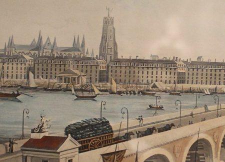 Télégraphe Chappe à Bordeaux en 1830